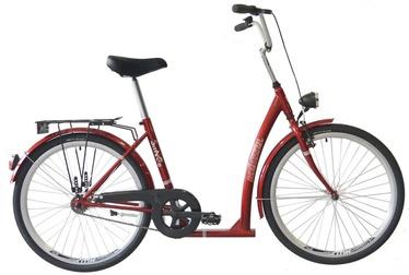 "Jalgratas Kenzel SITnGO Ceremony, punane, 16"", 26"""