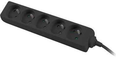Lanberg Power Strip 3m Black PS0-05E-0300-BK