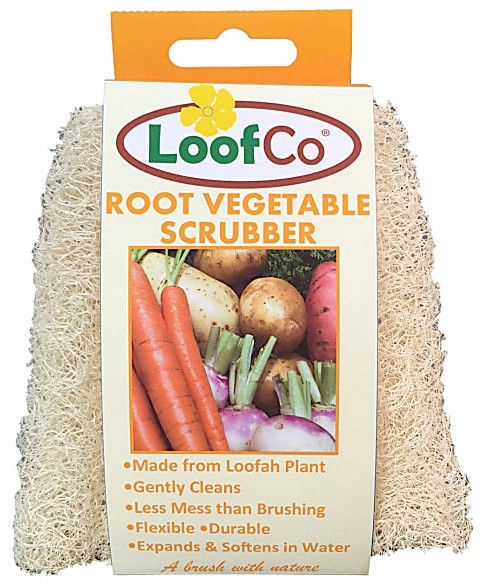 Loofco Root Vegetable Scrubber 1pcs