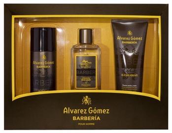 Набор мужской парфюмерии Alvarez Gomez Agua de Colonia Concentrada Barberia 3pcs Set EDP 530 ml