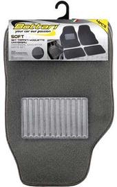 Автомобильный коврик из ткани Bottari Soft Universal, 4 шт.