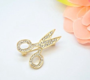 Vincento Brooch With Zirconium Crystal LD-1270
