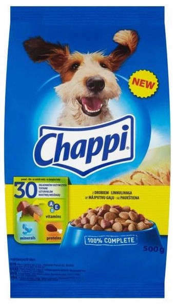 Chappi Complete Food Poultry 500g