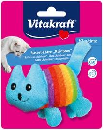 Mänguasi kassile Vitakraft Rattle Cat Rainbow