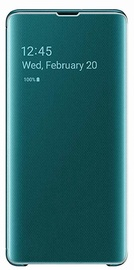 Samsung S-View Flip Cover For Samsung Galaxy S10 Plus Green