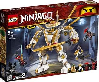 Konstruktor LEGO®Ninjago 71702 Kuldne robot
