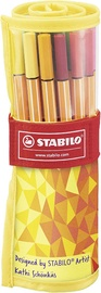 Stabilo Point 88 25pcs Yellow Case