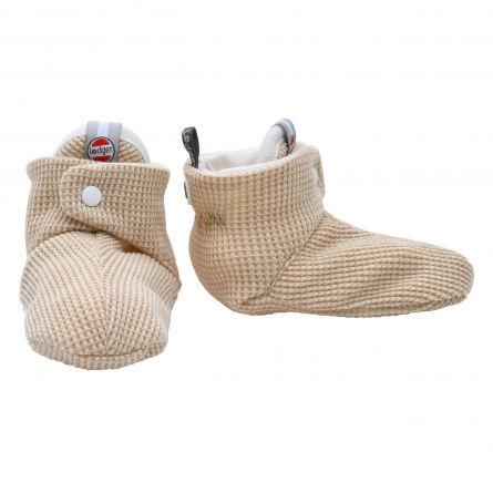 Lodger Slipper Ciumbelle Soft baby slippers 6-12m Ivory