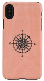 Man&Wood Compass Back Case For Apple iPhone X/XS