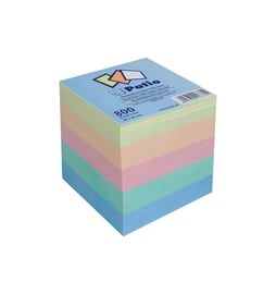 NOTE SHEETS 10672PTR 80X80MM(6/30