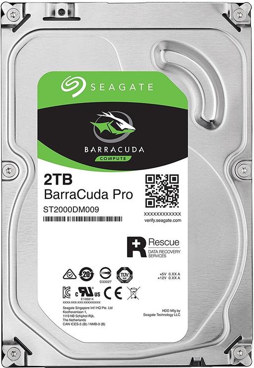 Seagate BarraCuda Pro 2TB 7200RPM SATAIII 128MB ST2000DM009
