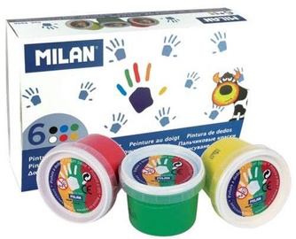 Milan Finger Paint 6pcs 5906