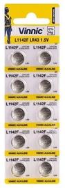 Vinnic AG12 L1142F LR43 Batteries 10x