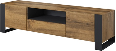 Cama Meble Wood TV Cabinet Wotan/Anthracite