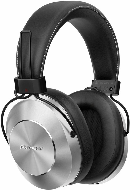 Pioneer SE-MS7BT Headphones Silver