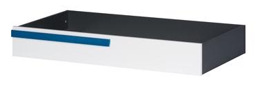 Szynaka Meble Ikar 53 Underbed Drawer White/Graphite
