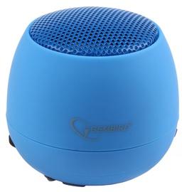 Беспроводной динамик Gembird SPK-103 Blue, 2 Вт