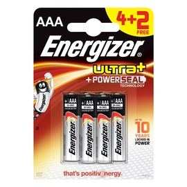 Energizer PowerSeal Technology Battery AAA x 6