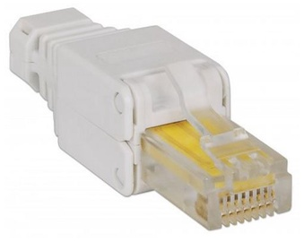 Intellinet Modular Plugs RJ45 Cat5/5e/6 UTP Grey
