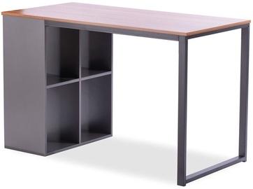 Письменный стол Homede Barsen, черный/серый/ореховый