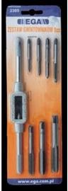 Ega Screw Tap Set M3 - M12 8pcs