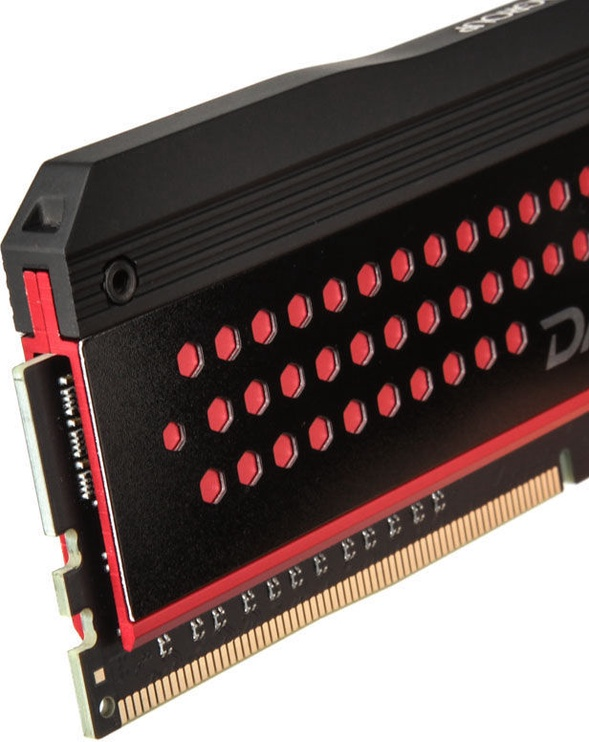 Team Group Dark Pro Red 16GB 3000MHz CL15 DDR4 KIT OF 2 TDPRD416G3000HC15ADC01