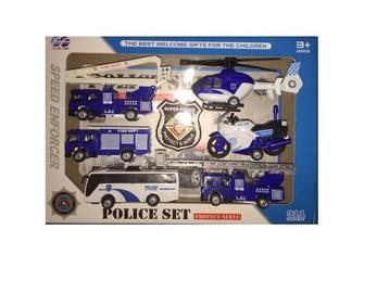 Mänguasi Speed Enforcer Police Set 868-11
