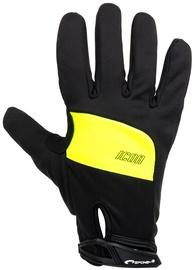 Spokey Icon Bike Gloves Black/Yellow XL