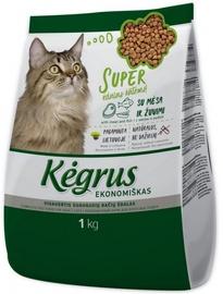 Kegrus Economic Adult Cat Food Meat & Fish 1kg
