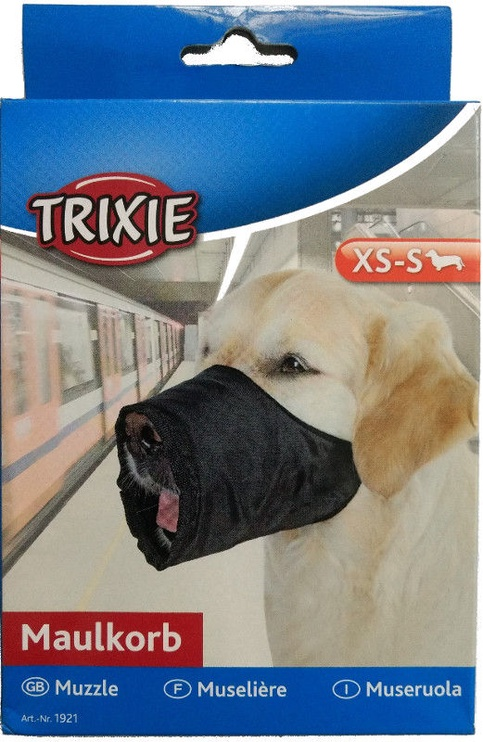 Trixie Nylon Muzzle XS-S Black