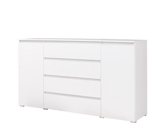 Maridex Cosmo C06 Chest Of Drawers White