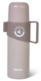 Fissman Vacuum Bottle 350ml Brown