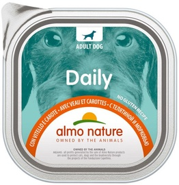 Almo Nature Daily Veal & Carrots 100g