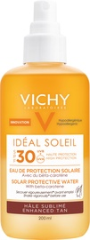 Солнцезащитный спрей Vichy deal Soleil Sun Enhancing Tan Protective Solar Water SPF30, 200 мл