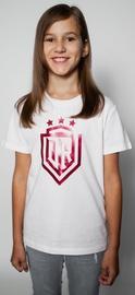 Dinamo Rīga Children T-Shirt White/Red 152cm
