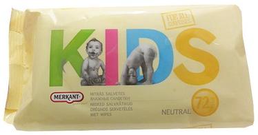 Niisked salvrätikud Merkant Kids, 72 tk