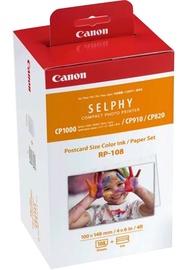 Canon Cartridge RP-108 Ink/Paper Set Postcard Size 108 Prints