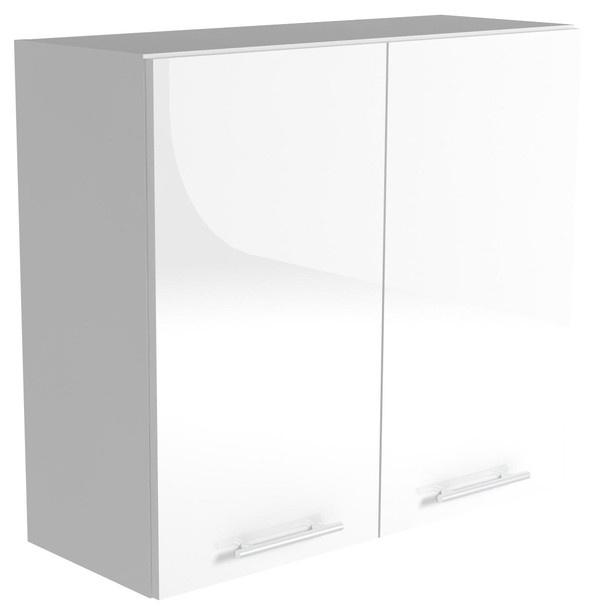 Верхний кухонный шкаф Halmar Vento G 80/72 White, 800x300x720 мм