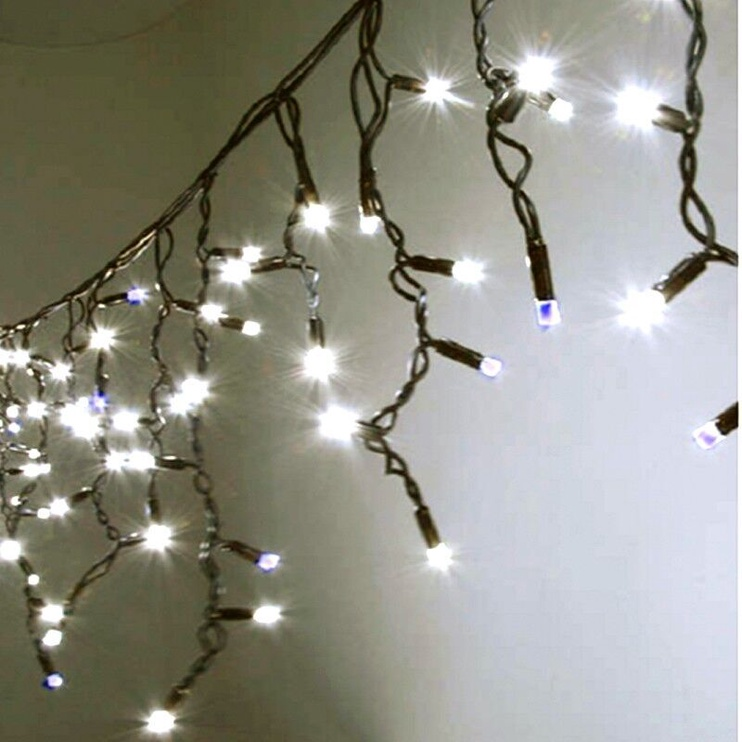 Jõulutuled Niveda Outdoor LED 360 White/White Flash, 18 m