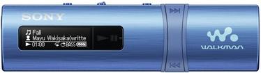 Музыкальный проигрыватель Sony NWZ-B183/L Blue, 4 ГБ