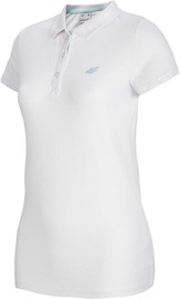 4F Women's T-shirt Polo NOSH4-TSD007-10S M