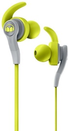 Kõrvaklapid Monster iSport Compete Green