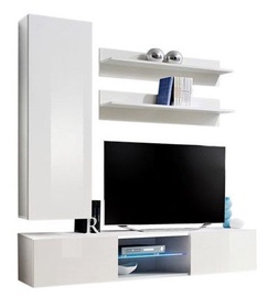 ASM Fly S1 Living Room Wall Unit Set White