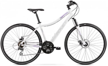 "Jalgratas Romet Orkan 1M, valge/violetne, 15"", 28"""