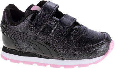 Puma Vista Glitz Toddler Shoes 369721-10 Black/Pink 25