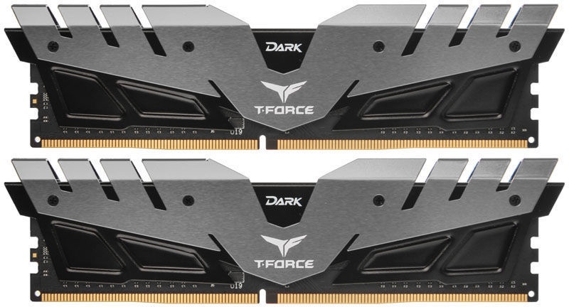 Team Group T-Force Dark Grey 16GB 3000MHz CL16 DDR4 KIT OF 2 TDGED416G3000HC16CDC01