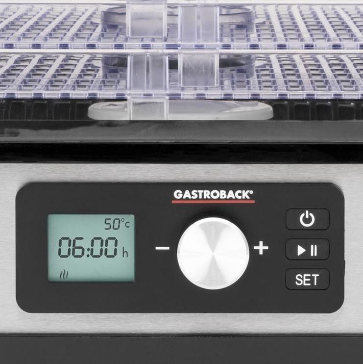 Gastroback Design Dehydrator Natural Plus 46600 Inox