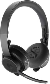 Logitech Zone Wireless On-Ear Headphones Black