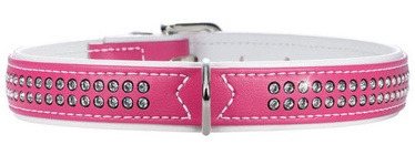Hunter Collar Modern Art Deluxe 35 Pink/White