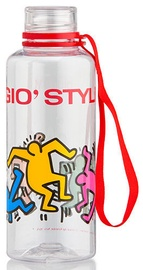 Gio'Style Drink Bottle 0.5L Keith Haring